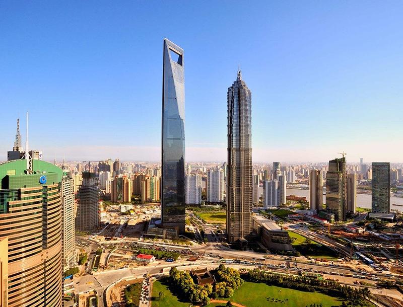 上海环球金融中心-华美橡塑保温材料和离心玻璃棉